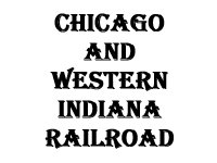 Chicago & Western Indiana rr
